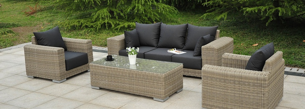 rattan im trend rattan m bel teak fichte outdoor lounge. Black Bedroom Furniture Sets. Home Design Ideas