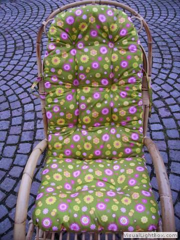 Schaukelstuhl polster for Schaukelstuhl pink